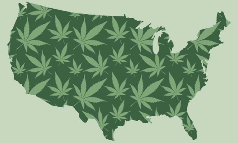 Which US City Smokes The Most Weed Per Resident?